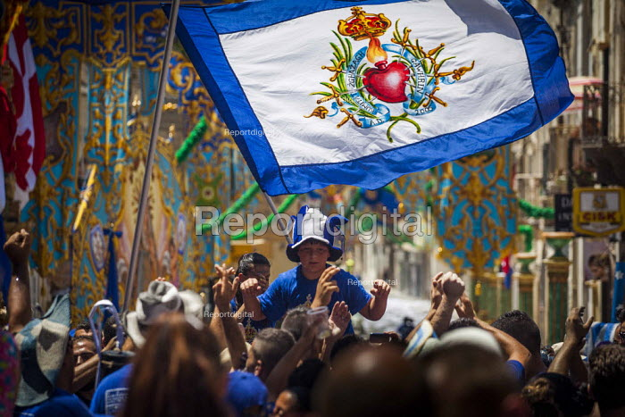 The Feast of Our Lady of Sorrows St. Pauls Bay Malta. Procession to the church - Connor Matheson - 2015-07-26
