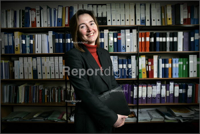 Debbie Brisco, School Business Manager at Broughton Hall School in Liverpool. - Christopher Thomond - 2005-03-21
