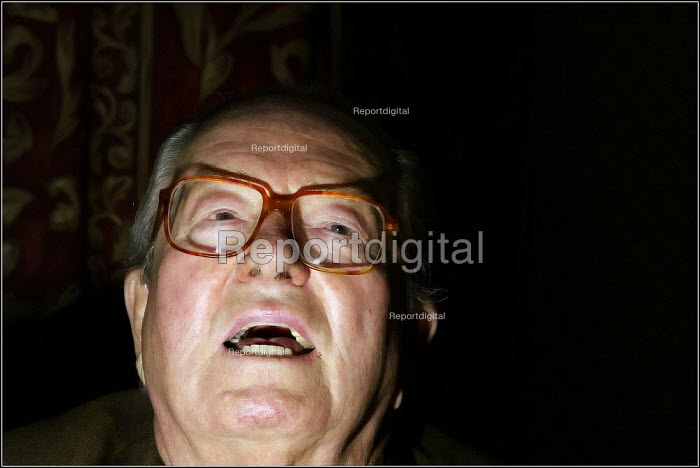 French far right politician Jean-Marie Le Pen - Christopher Thomond - 2004-04-25