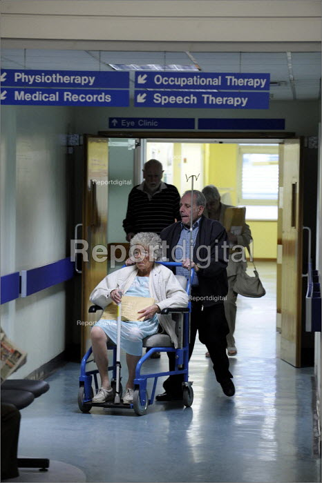 Chancellor Wing at St James' Hospital in Leeds. - Christopher Thomond - 2008-06-11