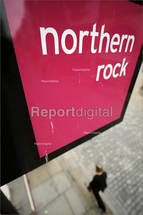 Northern Rock branch in Chester. - Christopher Thomond - 2008-08-05