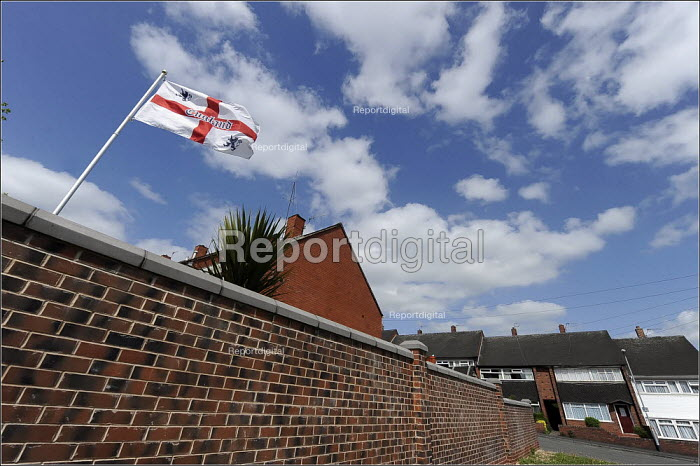 A BNP supporters house. Stoke on Trent. - Christopher Thomond - 2009-05-07