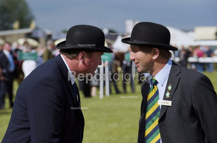 Stewards at judging for the beef catttle supreme championship at The Great Yorkshire Show at Harrogate. - Christopher Thomond - 2009-07-14