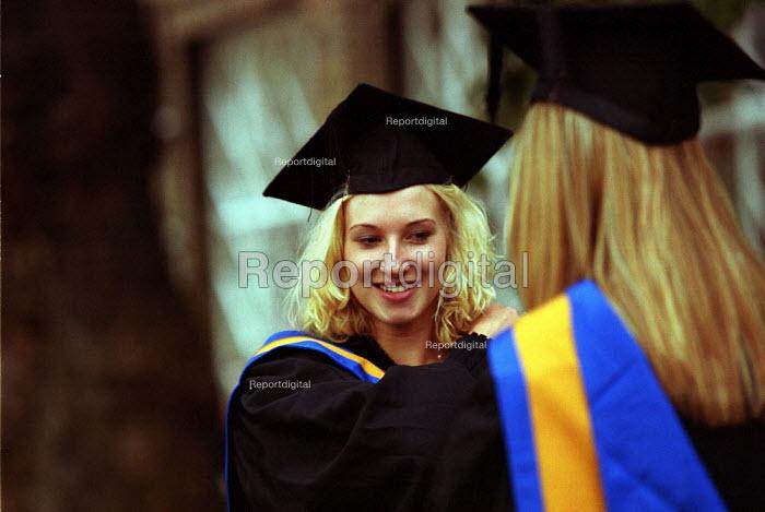 University Students at Graduation Ceremony - Duncan Phillips - 2002-10-04
