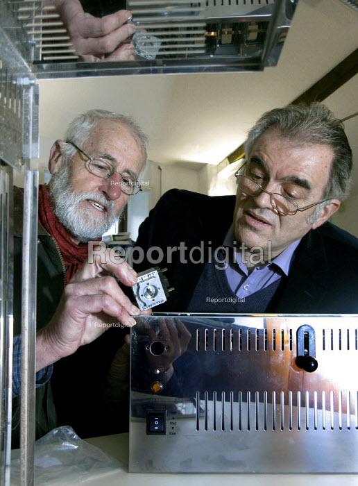 Graham Cole (left) and Gordon Ferguson of Repair Sheffield mending a toaster. The voluntary group runs regular Repair Cafes where the public are shown how to mend many household items to help them save money and resources. - David Bocking - 2015-01-08