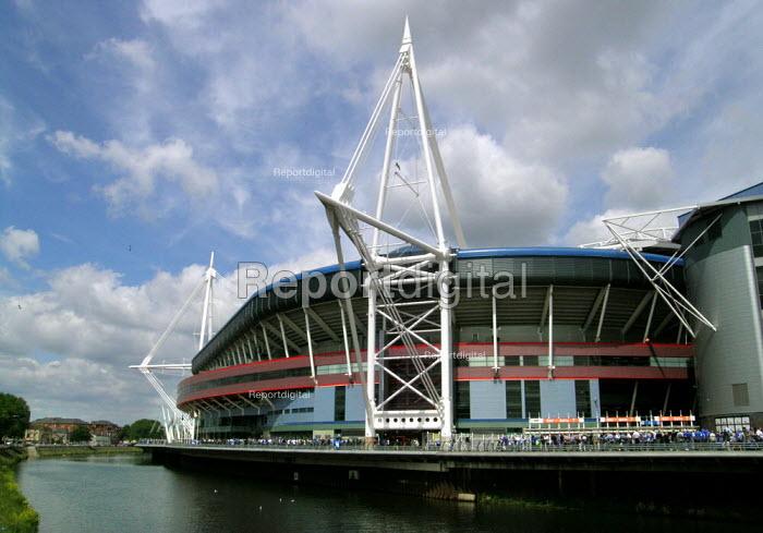 The Millennium Stadium, Cardiff - David Bocking - 2005-05-29