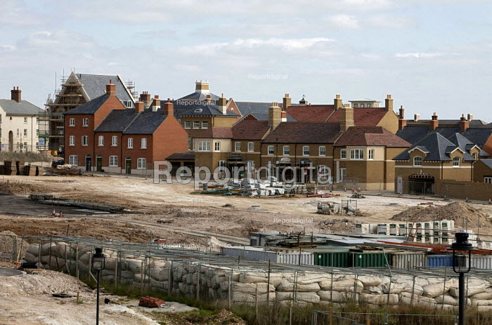 The Duchy of Cornwall's new housing development of Poundbury an urban extension to Dorchester in Dorset. - David Mansell - 2009-09-26