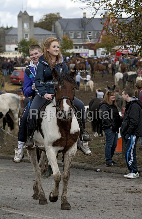 Country Fair Day, The Ballinasloe Horse Fair, County Galway, Ireland - David Mansell - 2012-10-06