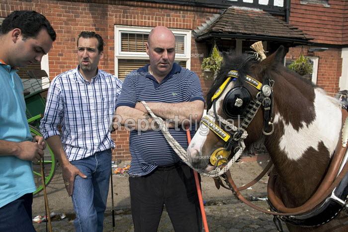 Annual Horse Fair, Wickham, Hampshire, The Goddard family - David Mansell - 2012-05-21