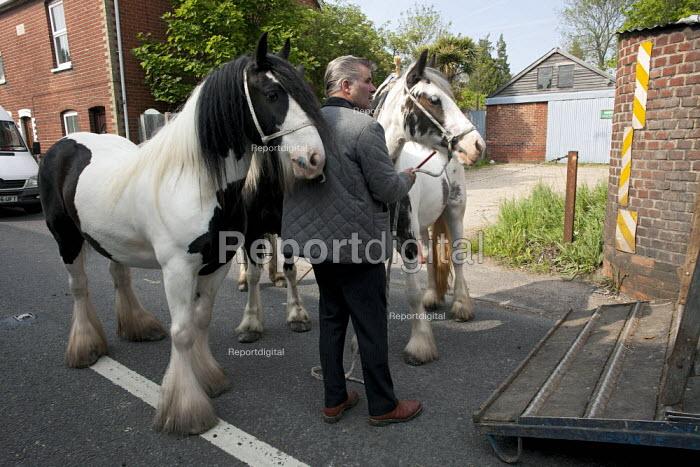 Annual Horse Fair, Wickham, Hampshire, John Jeffries - David Mansell - 2012-05-21