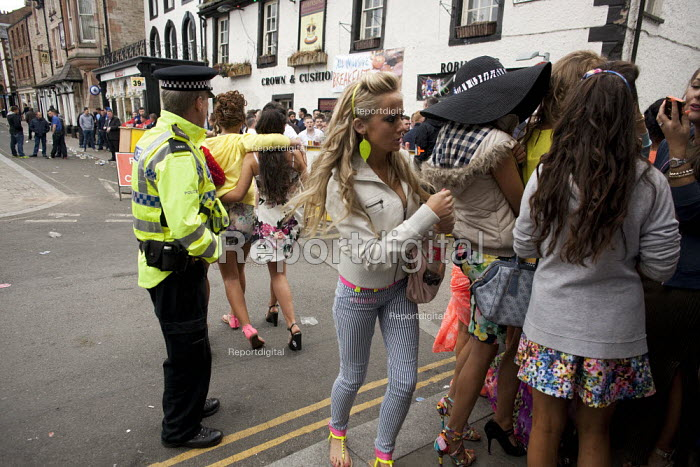 Appleby Horse Fair, Cumbria, the most important place to be seen if you are young. Gypsy and the Travelling community have strict moral codes for their young people and visiting the Fair is the one occasion where young people can introduce themselves to a possible future partner. - David Mansell - 2015-06-06
