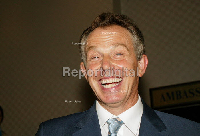 Tony Blair MP at the Labour Party Conference Brighton 2004. - David Mansell - 2003-09-30