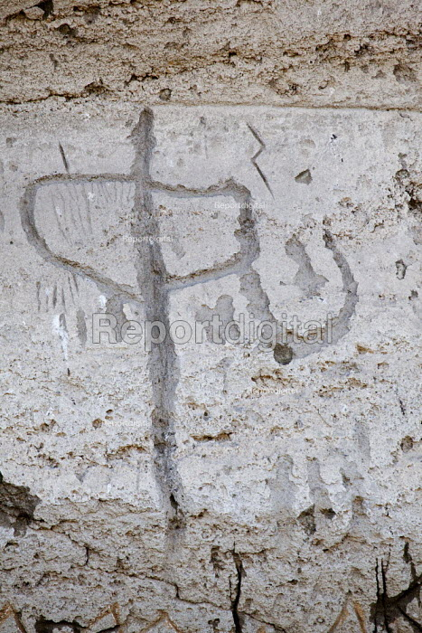 Lava Beds National Monument, California- Petroglyphs... - David Bacon, Dnb1309024.jpg