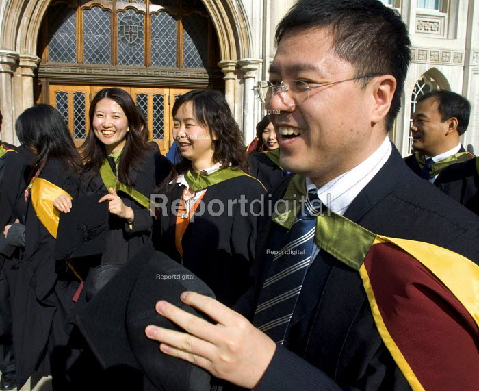University graduation celebration, Guildhall, London - Duncan Phillips - 2006-03-01