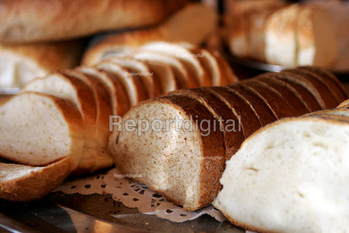 Freshly Baked Bread at a bakery - Duncan Phillips - 2004-11-09