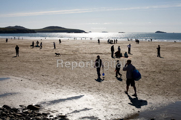 Whitesands Beach, Pembrokeshire, Wales - Duncan Phillips - 2009-04-11