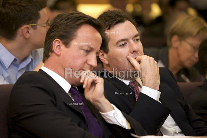 David Cameron MP and George Osborne MP - Duncan Phillips - 2008-07-17
