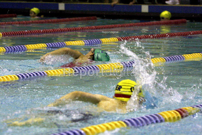 Swimming Gala, London - Duncan Phillips - 2008-11-20
