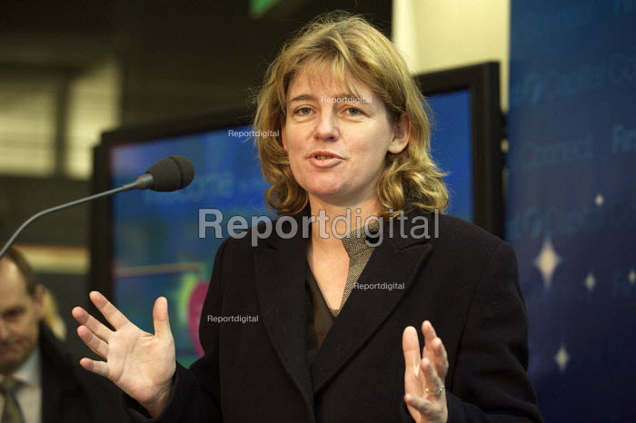 Ruth Kelly MP Opening First Capital connect station St Pancras International london - Duncan Phillips - 2007-12-10