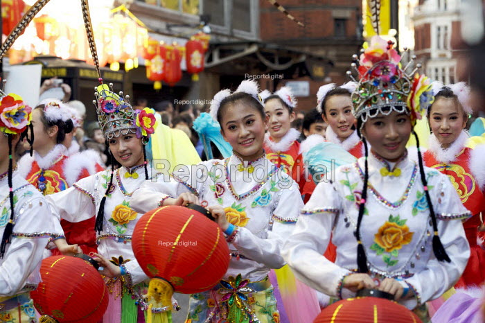 Chinese new year celebrations , London. Year of the Rat - Duncan Phillips - 2008-02-10