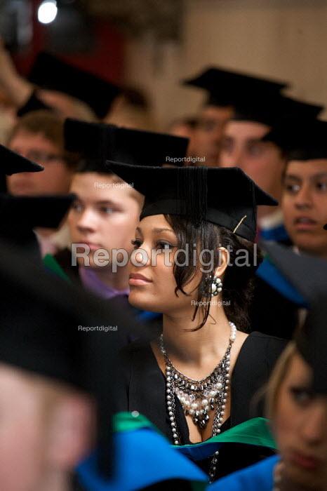 Graduation Ceremony, Westminster Kingsway College, London. - Duncan Phillips - 2009-10-09