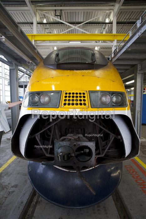 Eurostar Engineering Centre, Temple Mills, London - Duncan Phillips - 2008-06-24