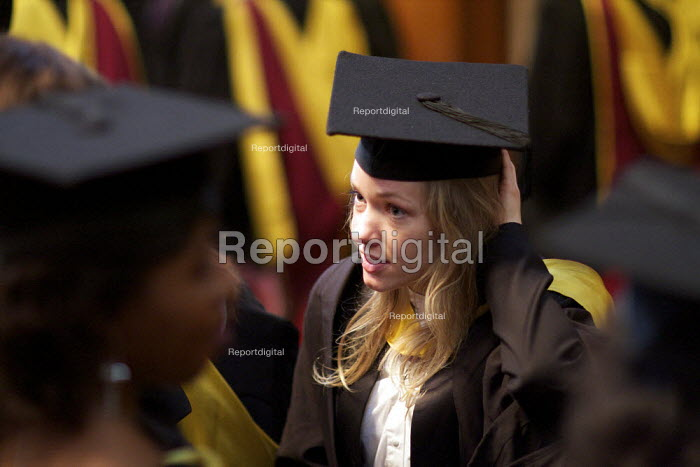 University Graduation ceremony, Guildhall, London. - Duncan Phillips - 2011-03-17