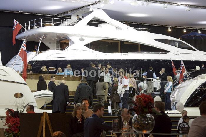 Collins Stewart London Boat Show, ExCel, London - Duncan Phillips - 2008-01-16