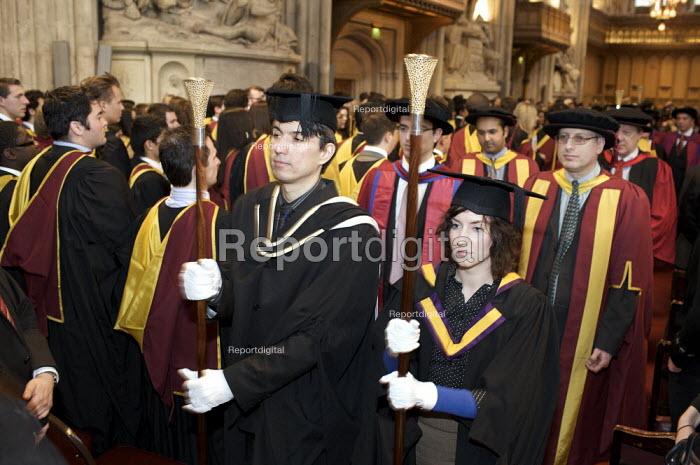 University Graduation, Guildhall, London. - Duncan Phillips - 2010-03-15