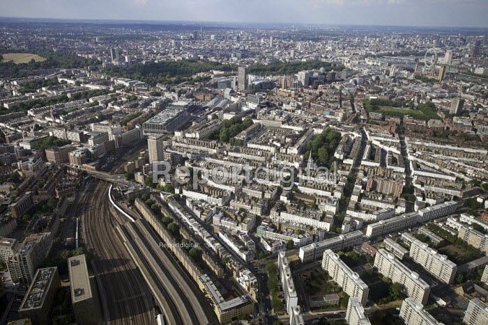 Aerial View of London - Victoria Station - Duncan Phillips - 2013-07-26
