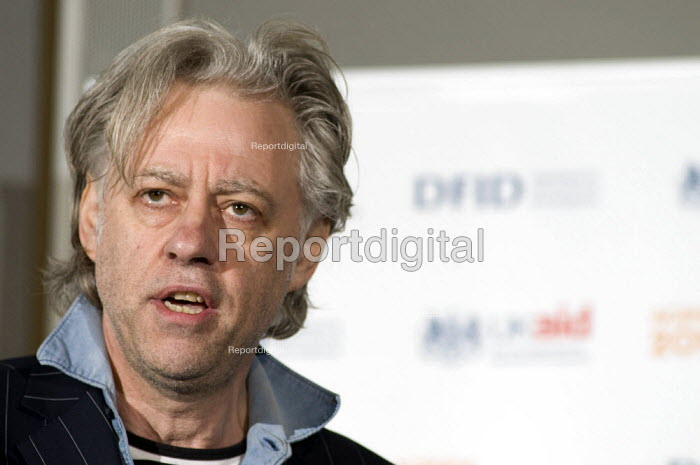 Sir Bob Geldof speaking at the Agenda 2010, Turning point on Poverty conference - Geoff Crawford - 2010-03-11