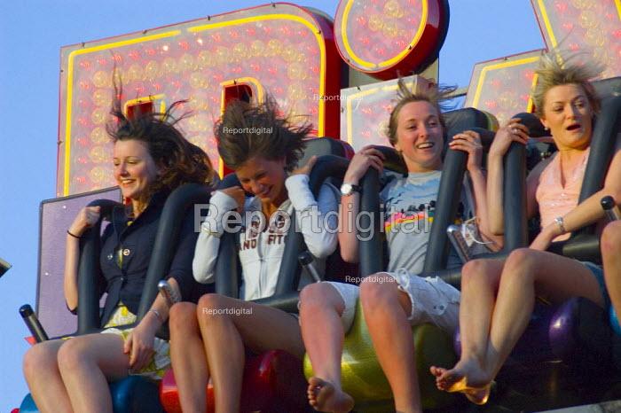 Screamimg on a fair ride - Graham Howard - 2006-06-03