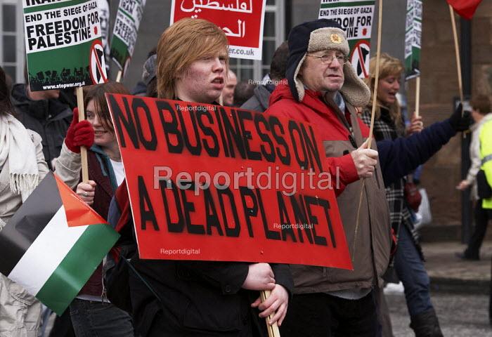 Anti-war rally in Glasgow. - Gerry McCann - 2008-03-15
