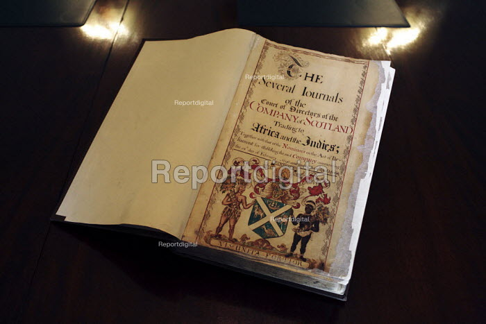 An original copy of the Directors' Journals, which is held in the archive of the Royal Bank of Scotland in Edinburgh. - Gerry McCann - 2006-06-13