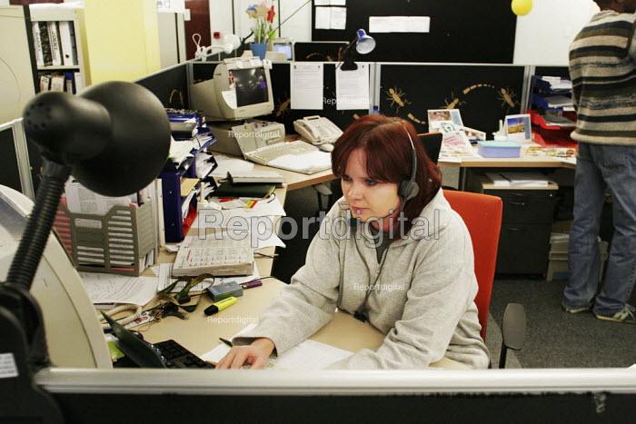 A banking call centre in Johannesburg. - Gerry McCann - 2005-05-06