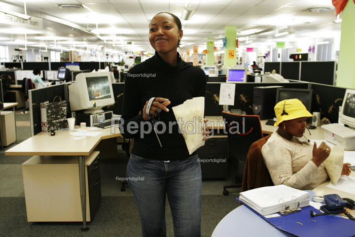A banking call centre in Johannesburg. - Gerry McCann - 2005-05-06