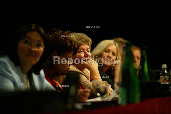 Women GC members TUC Congress 2003 - John Harris - 2003-09-08