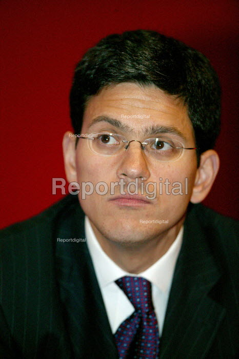 David Miliband MP Labour Party Conference 2004 - John Harris - 2004-09-29