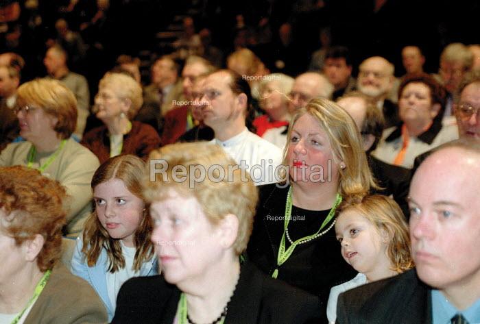 Unison delegates Labour Spring Conference Cardiff - John Harris - 2002-02-02