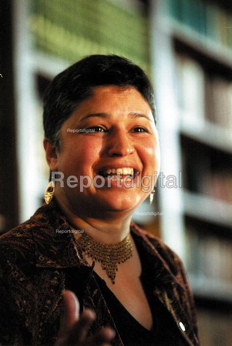Prof. Heidi Mirza speaking NUT Black Teacher's conference 2002 - John Harris - 2002-05-19