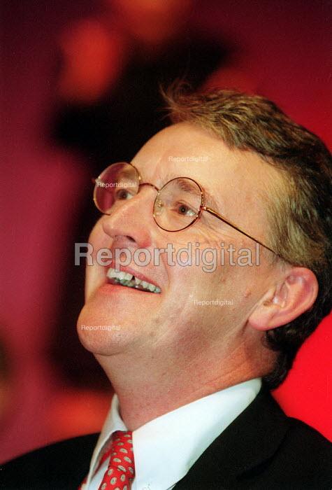 Hilary Benn MP Labour Party conference 2002 - John Harris - 2002-09-30