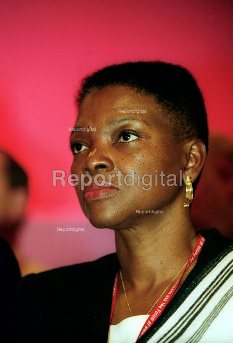 Baroness Valerie Amos Labour Party conference 2002 - John Harris - 2002-10-02