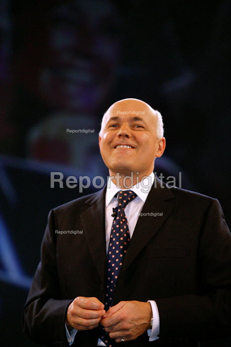 Iain Duncan Smith leader's speech Conservative Party Conference 2003 - John Harris - 2003-10-09