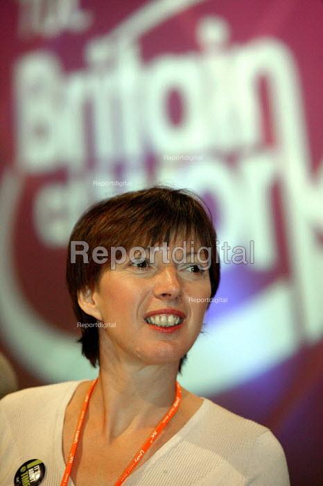 Frances O'Grady Dept Gen Sec at TUC Congress 2003 - John Harris - 2003-09-11