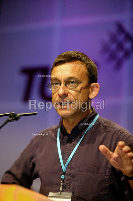 Prospect speaking at TUC Congress 2003 - John Harris - 2003-09-11