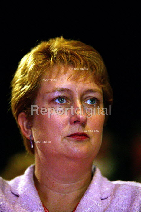 Jacqui Smith MP at Labour Party Conference 2003 - John Harris - 2003-09-29