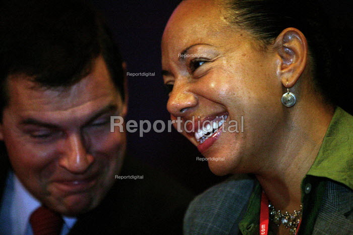 Oona King MP at Labour Party Conference 2003 - John Harris - 2003-09-29