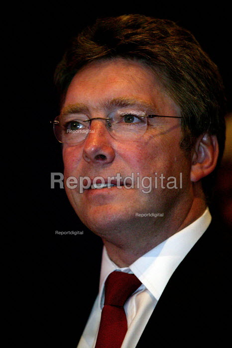 Phil Hope MP at Labour Party Conference 2003 - John Harris - 2003-09-29