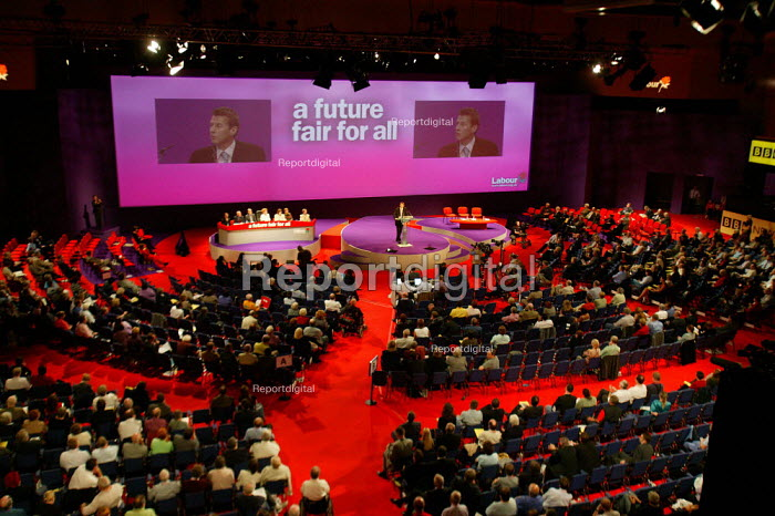 View of Labour Party Conference 2003 - John Harris - 2003-09-29