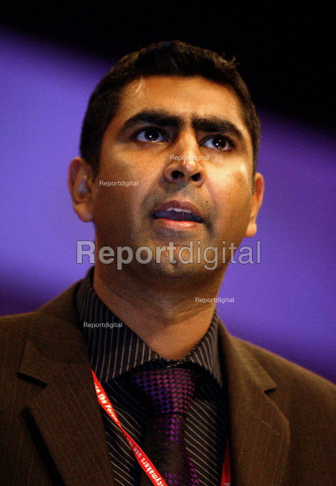 Parmjit Dhamda MP Labour Party conference 2003 - John Harris - 2003-10-01